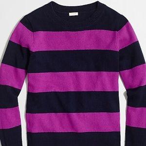 J. Crew Wide Stripe Sweater